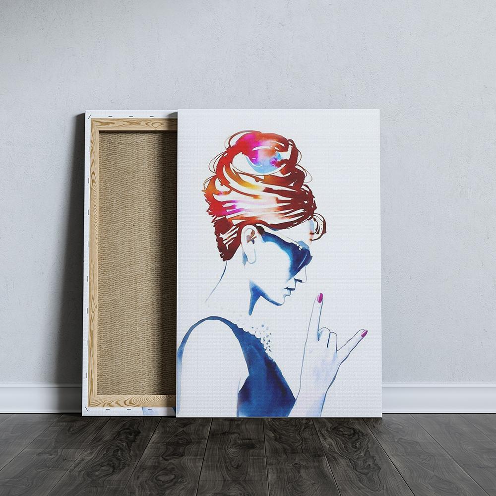 audrey hepburn fashion vászonkép