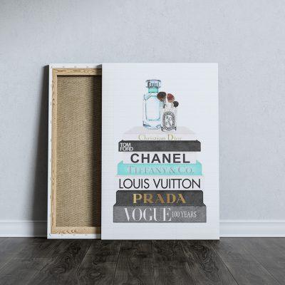 fashion csajos vászonkép
