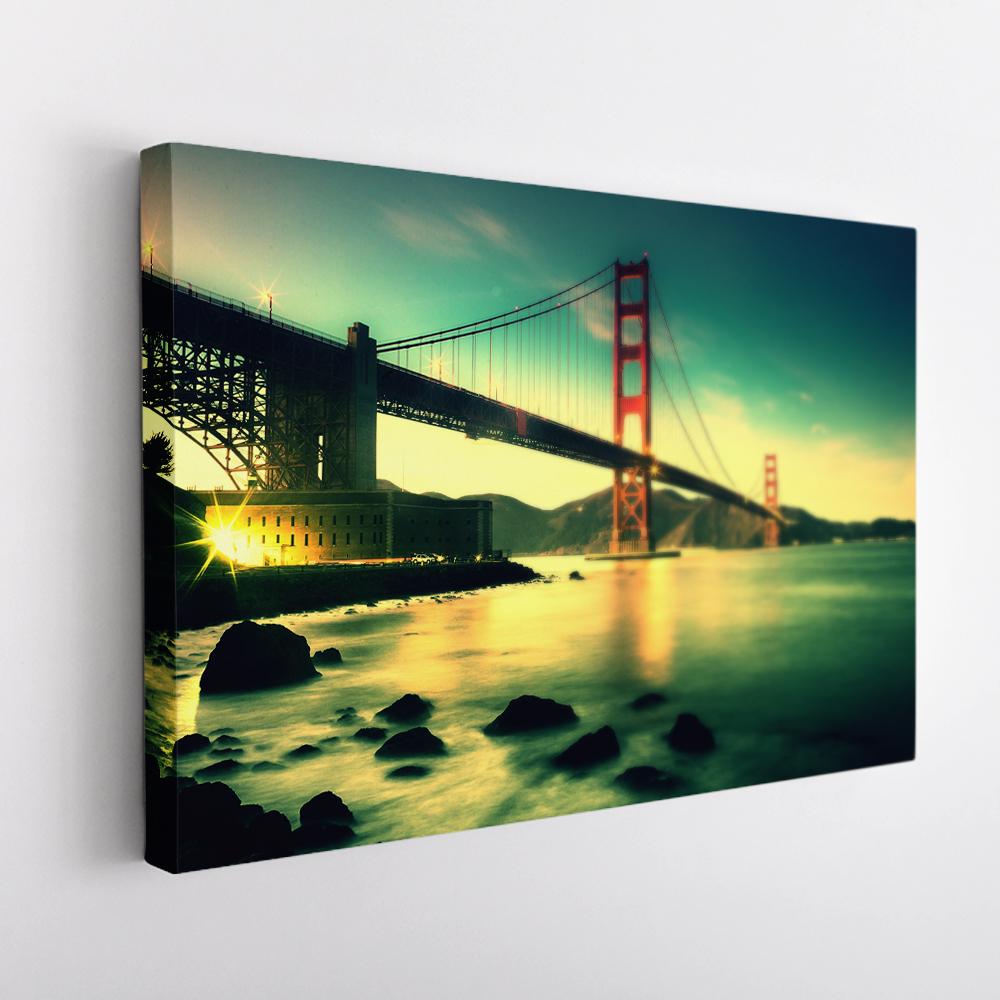 goldengate híd vászonkép