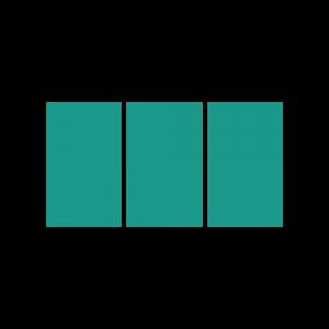 háromrészes vászonképek