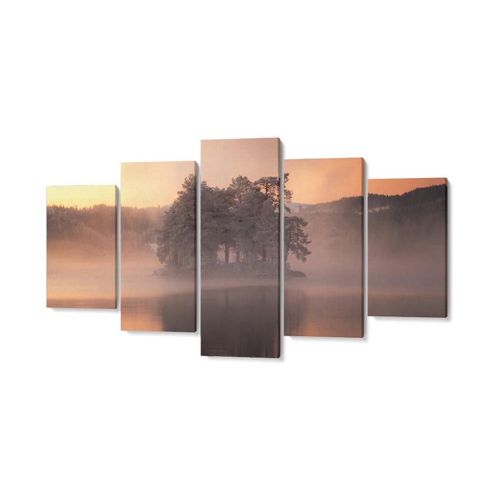 napkelte többrészes falikép