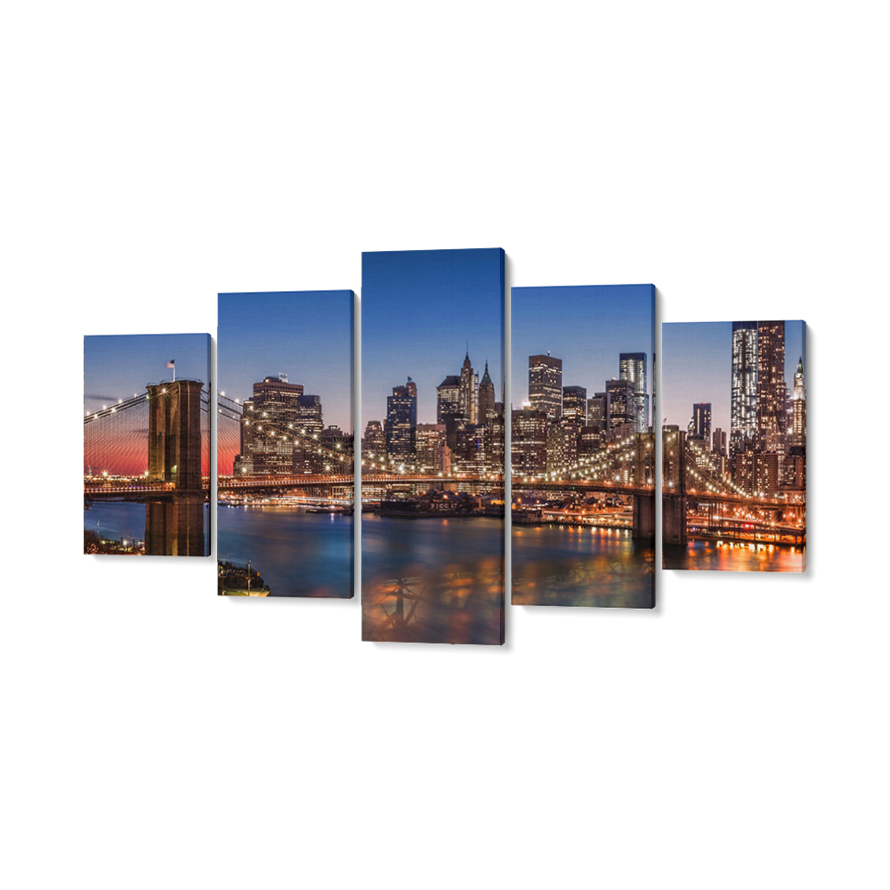 New York többrészes falikpép