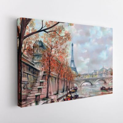 párizs vászonkép