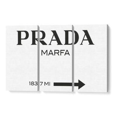prada marfa vászonkép